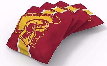 "PROLINE 6""x6"" NCAA College Cornhole Bean Bags - Stripe Design"