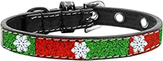Mirage Pet Products 639-09 14 SnowFlake Widget Christmas Ice Cream Collar, Size 14