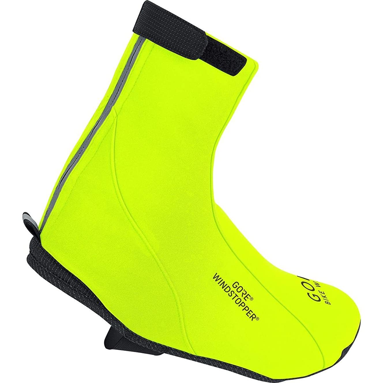 Gore Bike Wear Men's Road Gore-Tex  Thermo Overshoes, Neon Yellow, 6.5-8.0