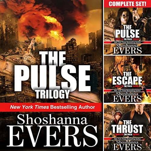 The Pulse Trilogy Complete Set Audiobook By Shoshanna Evers cover art
