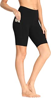 Women's Workout Shorts with Pockets - Athletic Running Yoga Exercise Jogging Shorts