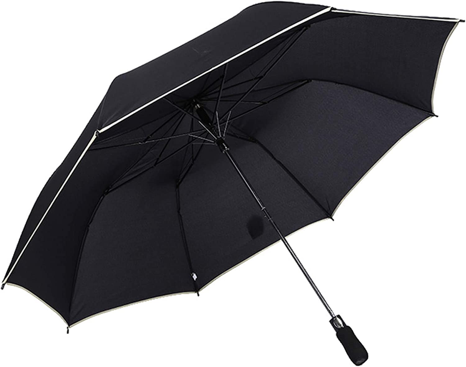 WWDKF Oversized Cash In a popularity special price Automatic Golf Umbrella Sun Protect with Edging