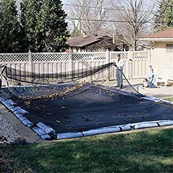Harris Pool Products Professional Grade Leaf Nets for In-Ground Pools | Makes Clean-Ups Fast! | Versatile Lightweight and Durable | Keeps Leaves Out of Your Pool!  16  x 32  Deluxe