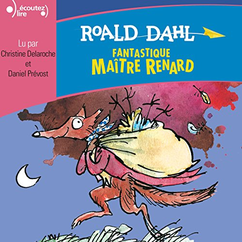 Fantastique Maître Renard audiobook cover art