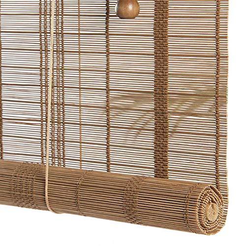 JCJ-Shop Tende di bambù per Esterni, con Filtro per Luce Valence Tende A Rullo Oscuranti Tessute...