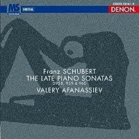 Schubert: Piano Sonata Nos. 19 20 21 by Valery Afanassiev (2010-09-22)