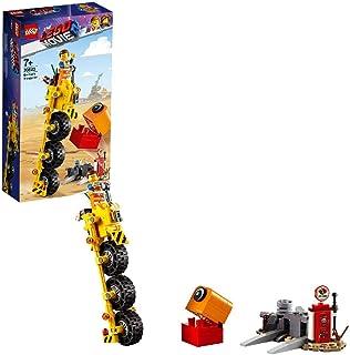LEGO La LEGO Película 2 - Triciclo de Emmet, set creativo de construcción con vehículo de juguete, incluye figura de Planty (70823) , color/modelo surtido