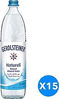 Gerolsteiner Naturell Water 750ml Glass, Carton of 15