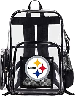 The Northwest Company Pittsburgh Steelers NFL Dimension Clear Backpack