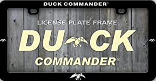 Duck Dynasty Duck Commander Plastic License Plate Frame