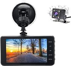 Veoker DashCam, Dash Cam,Dual Lens Dashboard Camera Recorder, 1080P FHD, 4