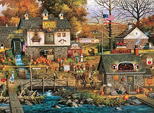 Charles Wysocki - Olde Buck's County - 1000 Piece Jigsaw Puzzle