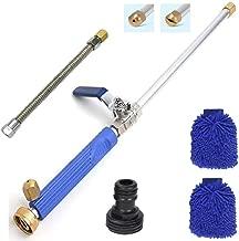 Hydro Jet Power Washer Wand–Magic High Pressure Wand Extendable Power Washer Wand High Pressure Water Hose Nozzle, Flexible Garden Hose Sprayer