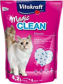 Vitakraft - Arena de silice para Gatos Magic Clean - 1.85 kg