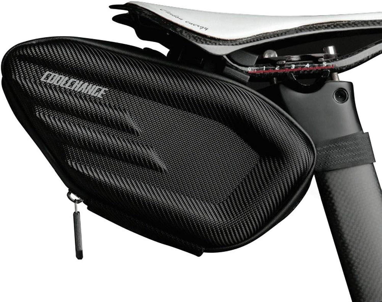 Bike Saddle Bag Mountain Bike Seat Pack Bicycle Tail Bag Outdoor Waterproof Saddle Bag Tail Seat Storage Bag Riding Equipment