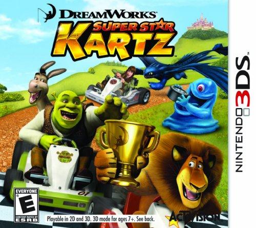 Activision DreamWorks Super Star Kartz