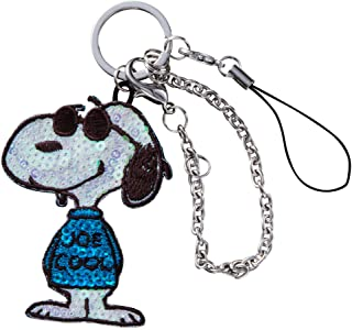 Minoda Snoopy vintage sequins Charm strap JOE COOL S02C8980