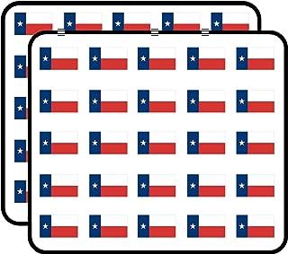 State Flag of Texas (tx Texan) Sticker for Scrapbooking, Calendars, Arts, Kids DIY Crafts, Album, Bullet Journals