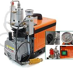 Hogedruk-luchtcompressor, elektrische compressor, 30 MPA 4500 psi, 1600 W, hogedruk-luchtpomp, PCP-inflator voor opblazen,...
