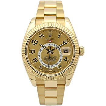 Rolex New Sky-Dweller 326938 42mm Gold Engraved 2019 Box/Paper/5YrWarranty #RL16