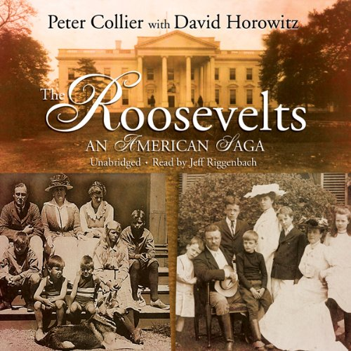 The Roosevelts audiobook cover art