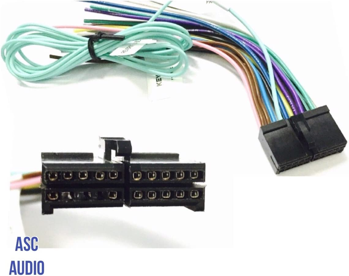 Amazon.com: ASC Audio Car Stereo Radio Wire Harness Plug for select Boss 20  Pin Radios DVD Nav- BV9973 BV9978 BV9979B BV9980BT and more...: AutomotiveAmazon.com