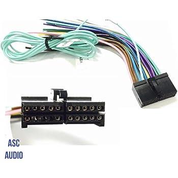 Amazon.com: ASC Audio Car Stereo Radio Wire Harness Plug for select Boss 20  Pin Radios DVD Nav- BV9973 BV9978 BV9979B BV9980BT and more...: AutomotiveAmazon.com
