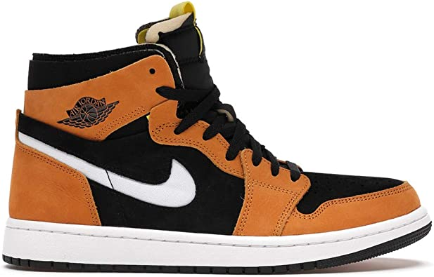 Nike Men's Shoes Jordan 1 High Zoom Air CMFT Black Monarch CT0978-002