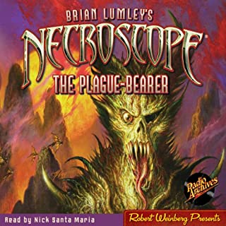 Necroscope: The Plague-Bearer audiobook cover art