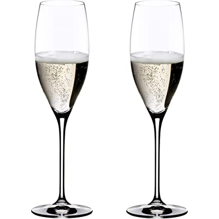 [正規品] RIEDEL リーデル シャンパン グラス ペアセット ヴィノム キュヴェ・プレスティージュ(ヴィンテージ・シャンパーニュ) 230ml 6416/48