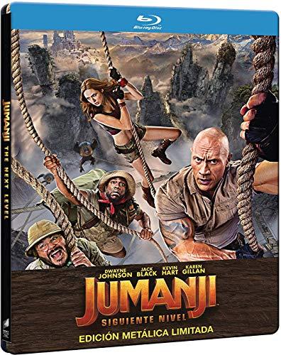 Jumanji: El siguiente Nivel - Edición especial metálica (BD) [Blu-ray]