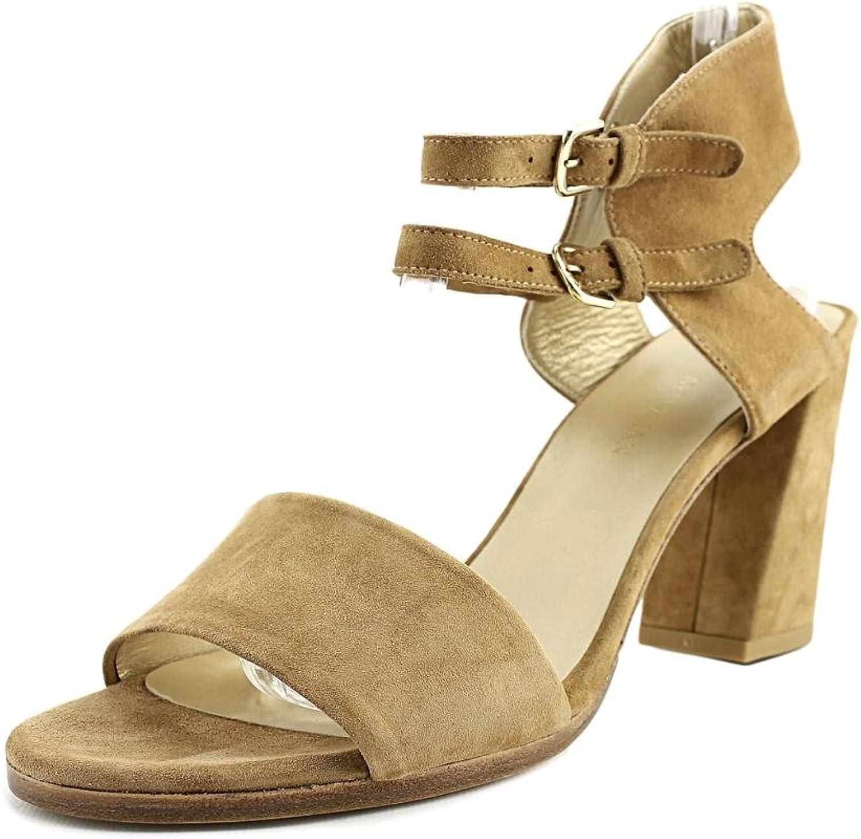 Stuart Weitzman Womens TwoWays Open Toe Casual Ankle Strap Sandals