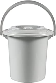 CURVER | Seau toilette adulte 10L, dark grey, Buckets, 31x31x32 cm