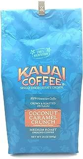 Kauai Hawaiian Coconut Caramel Crunch Coffee 24 Ounces by Kauai Coffee
