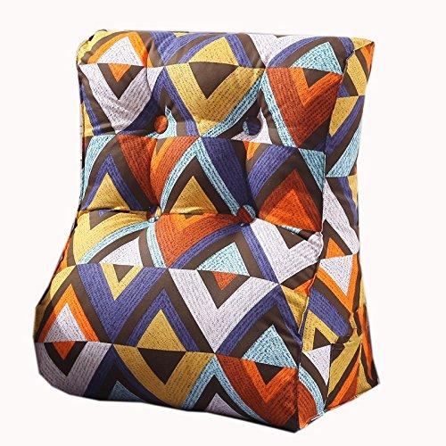 uus Triangle coloré Sofa Coussin Siège de la chaise Coussin de coussin carré utile Reconstruction lente Conception ergonomique Dossier confortable 45 * 55cm / 55 * 60cm ( taille : 55*60cm )