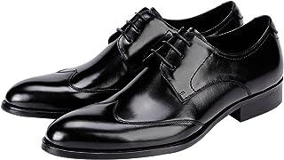 Igirl(アイガール) ビジネスシューズ 本革 紳士靴 内羽根 革靴 メンズ L23102