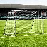 FORZA But de Football en Acier Steel42 | Cage de Foot pour Entraînements, Matchs ou Jardin (4 Tailles) (3m x 2m)
