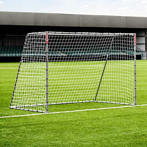 FORZA But de Football en Acier Steel42   Cage de Foot pour Entraînements, Matchs ou Jardin (4 Tailles) (3m x 2m)