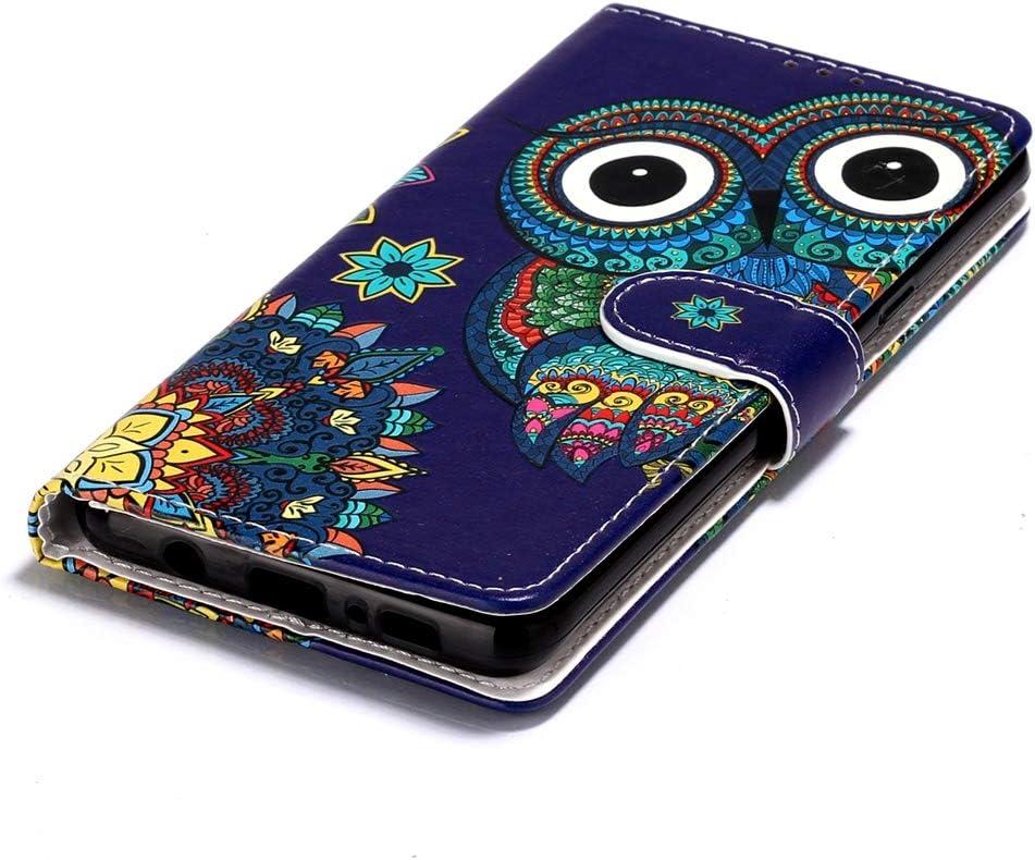 Panda XINYIYI Coque pour Samsung Galaxy A20E Bookstyle /Étui Motif Peint Housse en PU Cuir Case /à Rabat Coque de Protection Portefeuille TPU Silicone Case pour Samsung Galaxy A20E