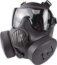 SunniMix Tactische Beschermende Masker, veiligheid Volledige Gezicht Oogbescherming Dummy Giftig Gas Masker met Verstelbar...
