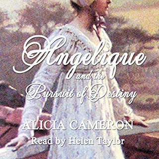 Angelique and the Pursuit of Destiny audiobook cover art