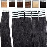 Extension Adhesive Naturel Cheveux Bande Adhésive Ruban Adhésif 20pcs - Rajout...