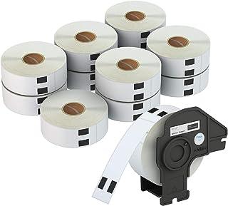 """AveneMark 1-1/7"""" x 3-1/2"""" Mailing Postage Address Label Compatible for Brother QL Printer DK-1201 - 12 Rolls, 400 Labels/ ..."""