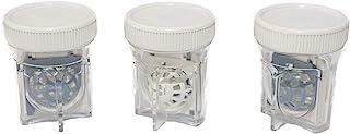 SPORTS WORLD VISION Étui pour lentilles de contact scléral (3 pièces) Récipient de nettoyage pour lentilles de contact aér...