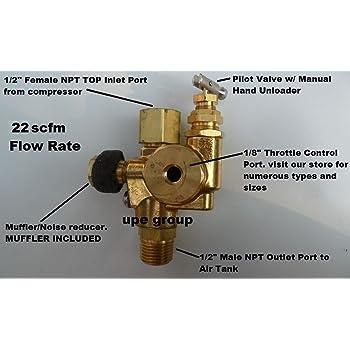 Throttle Control for Honda gas engine compressor 5.5-6.5 HP TCSP-H ...