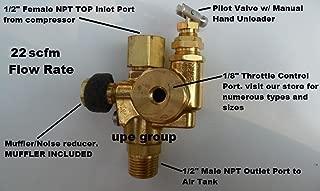 Air Compressor Pilot check valve unloader combination discharge 1/2