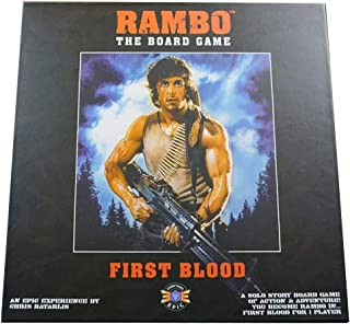 Everything Epic Games Rambo The Board Game: First Blood, black
