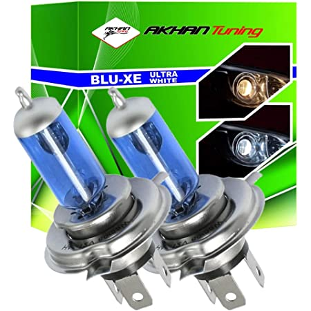 Akhan Ath4100w Xenon Look Halogen Lampen Set H4 12v 100w Super White Auto