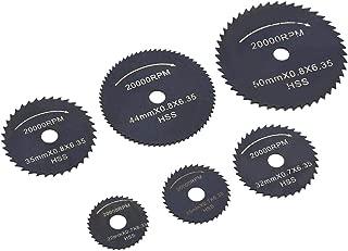 KOKO Zhu Hojas de Sierra Circular para Madera Plástico Aluminio, Juego de Corte de Madera 1 Juego Mini Hojas de Sierra Circular HSS Disco de Corte Herramientas eléctricas