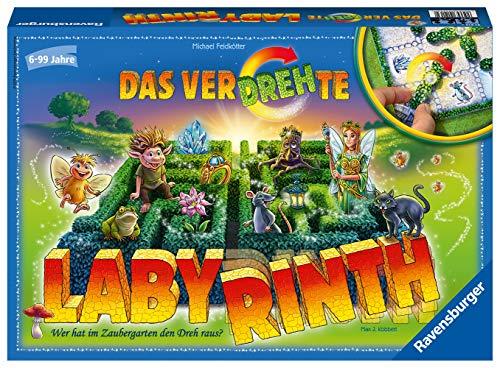 Ravensburger Kinderspiele 21213 - Das verdrehte Labyrinth: Wer hat im Zaubergarten den Dreh raus?